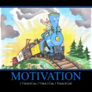 Motivational Blue Engine